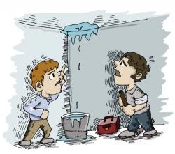 房顶出现漏水该怎么办?用防水涂料好还是防水卷材好?